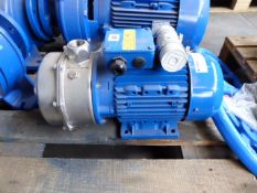 Lowara CAM120/55/P-V end section pump, 2.2kw (1ph)