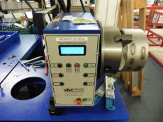 VBC Instrument Engineering Model W Automatic Programmable Rotary table (Feb 2018) with controller,