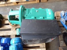 Large Wilo inverter drive motor