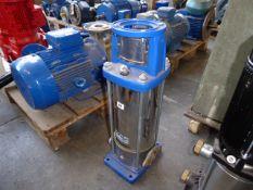 Lowara 10SV09T040T vertical multi-stage pump unit