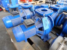 Lowara CN4 65-125/07 pump end section pump, 5.5kw