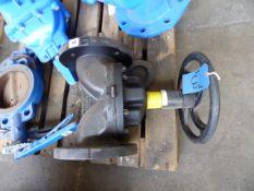 Saunders metering valve, 100mm