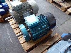 Brook Crompton T-DA160LA-D motor, 18kw, 88kg