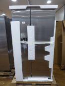 KA93IVIFPG-01 Siemens Side-by-side fridge-freezer No obvious damage. Plumped in water cooler
