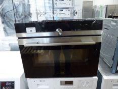 CM633GBS1BB Siemens Compact oven with microwave Width of hood = 59.5cm