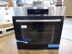 HBS534BS0BB Bosch Oven Dent on top of unit