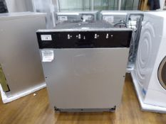 SMV40C40GBB Bosch Dishwasher fully integrated 60cm No visible damage. All parts included