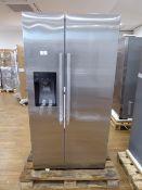 KAD93VIFPGB Bosch Side-by-side fridge-freezer Scratched door
