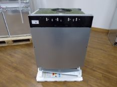 S513K60X1GB Neff Dishwasher fully integrated 60 cm Slightly bent front plate. All parts included