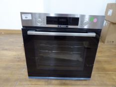 HBS534BS0BB Bosch Oven Scratches to handle