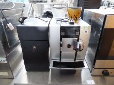 (41) Jura Giga X7C Bean to Cup coffee machine with milk fridge