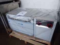 51 - 100cm electric RM Gastro PT-90EL single door oven