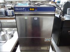 (42) 50cm Nelson model SC40A-3 bench top glass washer