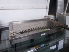 (70) 90cm heated bench top servery