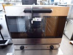 (40) 60cm electric Smeg bench top oven model ALFA43XUK