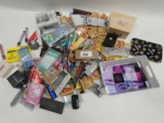 Bag containing quantity of smoking related accessories; papers, herb grinders, boxes etc