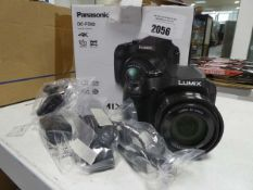 Panasonic DC-FZ82 4k bridge camera with box Condition appears ok, comes with accessories including