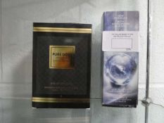 Pure Gold 100ml perfume together with a 150ml Youth Activating Concentrate by Lancome