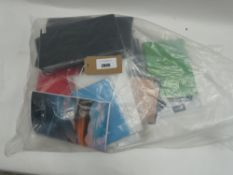 Bag containing quantity of tablet cases/covers