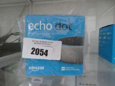Amazon Echo Dot with box