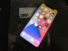 Apple iPhone X 256Gb mobile phone, no accessories