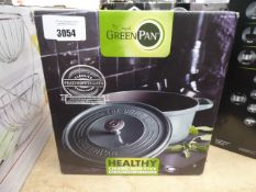 Non stick green pan cooking pot with box