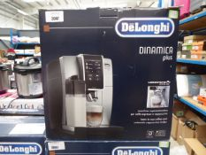 (TN67) - Delonghi Dinamica plus coffee machine with box