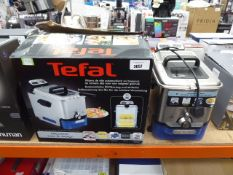 (TN31) - 1 box plus 1 unboxed Tefal filter fryer