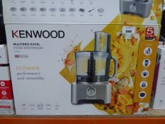 (TN74) - Kenwood multi pro XL food processor with box Model No. FPM910 Little use, no visible