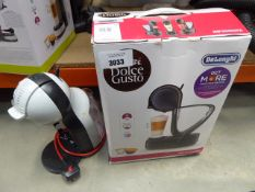 Nescafe Delonghi coffee machine with box plus one unboxed Little use, no visible damage