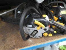 Titan petrol powered chainsaw