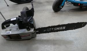Craftsman petrol powered chainsaw