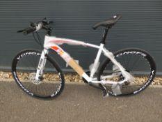 White Extreme racing bike