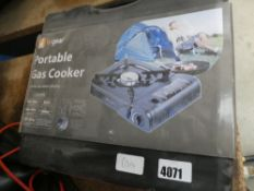 Small portable camping cooker