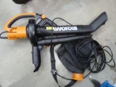 Worx electric blowvac