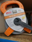 4039 - 50m professional style tape measure