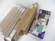 Bag of boxed Talktalk wifi hub, EE Smart Router & 7 Sagemcom Plusnet hub one sets