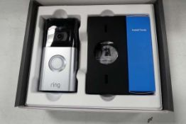 Ring Video Doorbell 3 with box and battery