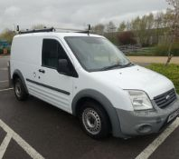 MV12 YWO Ford Transit A Connect 75 T200 van, first reg 01/03/12, 149,865 miles, broken lower
