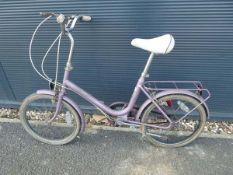 Raleigh ladys chopper style bike
