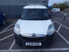 LC14 UXZ Vauxhall Combo-D-Van, first reg 30/06/2014, oil pump gone/non runner, no MOT