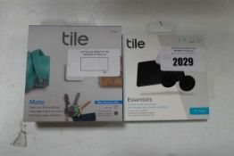 TileMate tracking tile set and a Tile Essentials pack