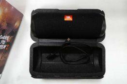 JVL Flip 5 portable bluetooth speaker with box