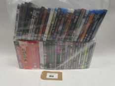 Bag containing assorted DVDs and Blu-Rau DVDs/boxsets
