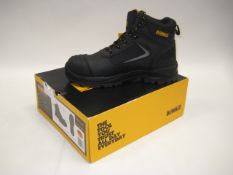 Boxed pair of DeWalt safety boots size 11