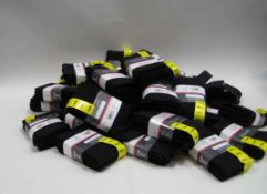Bag containing approx. Yummie twin packs of ladies opaque tights in black