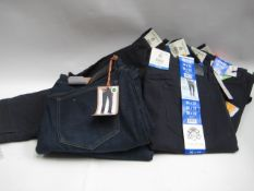 Bag containing gents jeans by Weatherproof, English Laundry, sizes range from 34/32 to 38/34 (9