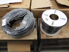 2 reels of cable