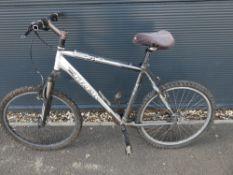 Trek silver gents mountain bike