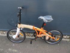 Ab Fitness Supersport foldup orange bike